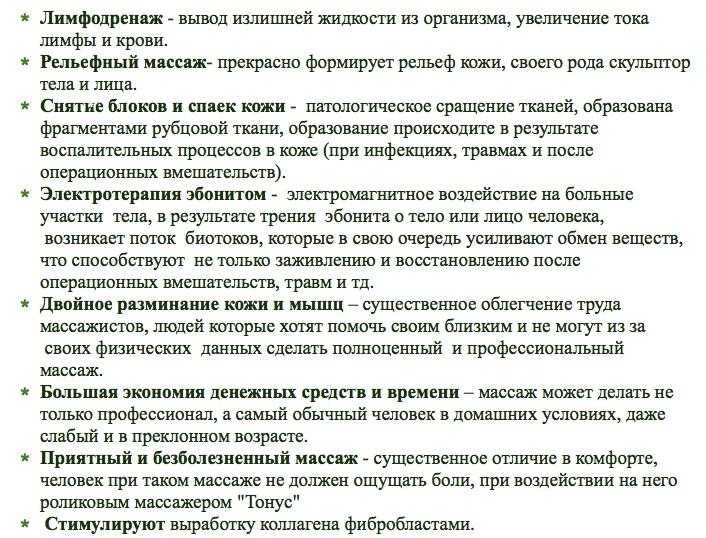 Лимфодренаж Чернов